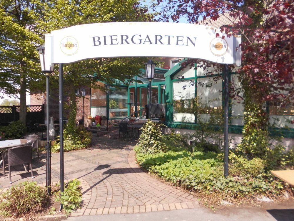 Uelder Bahnhof - Biergarten